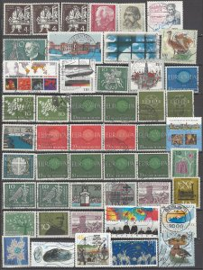 COLLECTION LOT OF #1226 GERMANY 49 STAMPS 1954+ CLEARANCE