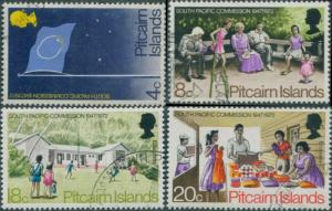 Pitcairn Islands 1972 SG120-123 South Pacific Commission set FU