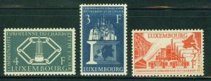 Luxembourg Scott 315-7 MNH** 1957 Childrens Clinic set CV...