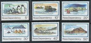 New Zealand - Ross Dependency L15-L20 MNH (1982)