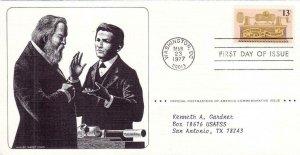 1977, Centennial of Sound Recording, FDC (D6571)