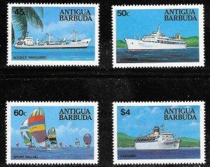 Antigua & Barbuda  (1984)  - Scott # 745  - 748,   MNH