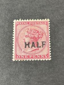 NATAL # 80--USED------SINGLE------ROSE-------1895