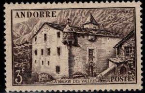 Andorre (French) Andorra Scott 91 MNH**