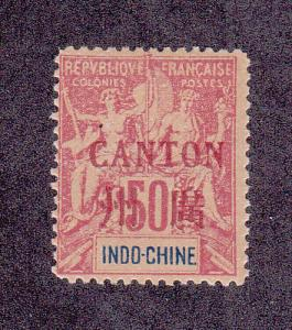 French Offices In China (Canton) Scott 11 MLH