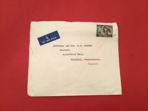 Cyprus CHR.S Christifides Nicosia Air Mail stamp cover R36216