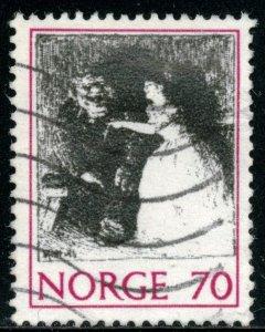 NORWAY #581, USED - 1971 - NORWAY063NS13