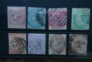 Jamaica 1870 - 83 values to 2s Poor to Fine Used