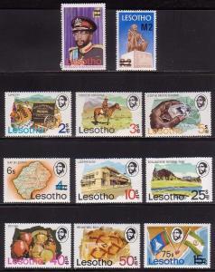 Lesotho 302 - 312 MNH