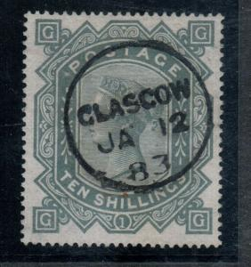 Great Britain #74 (SG #128) Very fine Used With 1883 Cancel **With Certificate**