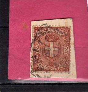 ITALIA REGNO ITALY KINGDOM 1896 1897 RE UMBERTO I KING STEMMA COAT OF ARMS CE...