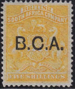 British Central Africa 1891-1895 SC 12 MLH