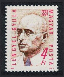 Hungary Gyula Lengyel labour movement activist 1v SG#3872