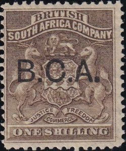 British Central Africa 1891-1895 SC 7 MLH