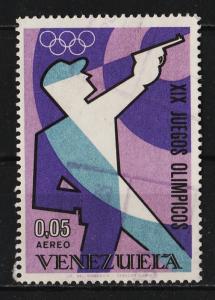 Venezuela 1968 AIR / XIX Olympic Games, Mexico $05 (1/5) USED