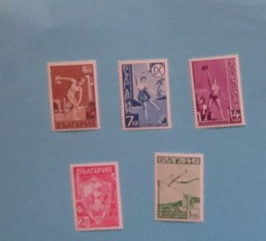 Bulgaria - 352 - 56, MNH Set. Yunak Gymnastic Tournament. SCV - $17.05
