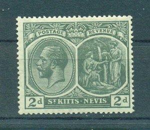St. Kitts & Nevis sc# 27 mh cat value $3.25