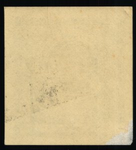 The American Geographical Society of NY - $1 - HR - 1852