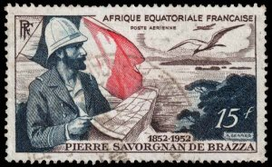 French Equatorial Africa - Scott C35 - Used