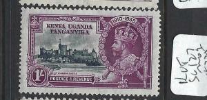KENYA,UGANDA,TANGANYIKA  (PP2903B)     KGV SILVER JUBILEE  SG 127     MOG