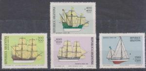 ARGENTINA Sc B80-B83 MNH VF SHIPS SCV$30.00