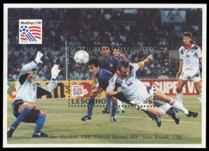 1994 Lesotho 1089/B111 1994 FIFA World Cup in USA 7,50 €