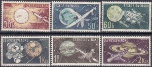 Czechoslovakia #1169-74  MNH CV $3.85 (Z4678)