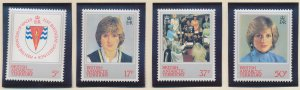 British Antarctic Territory (B.A.T.) Stamps Scott #92 To 95, Mint Never Hinge...