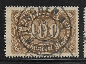 Germany, Inflation Wmk 126 Sc.# 202 Used L2