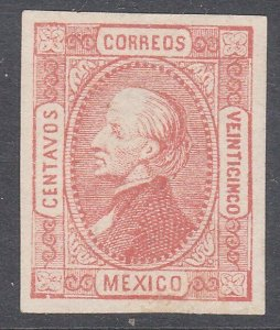 MEXICO  An old forgery of a classic stamp...................................C783
