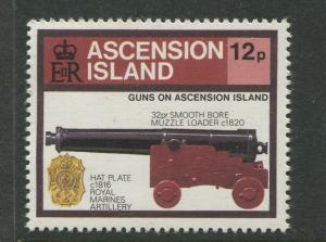 Ascension - Scott 368 - General Issue -1985 - MNH - Single 12p Stamp