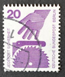 Germany Berlin Scott #9N318, VF Used