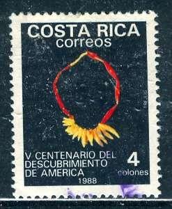 Costa Rica, 1988: Sc. # 408; O/Used Cpl. Set
