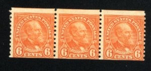 USA 723   (3)  Mint NH   1932 PD
