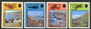 Falkland Islands Sc# 520-523 MNH 1990 Nature Reserves