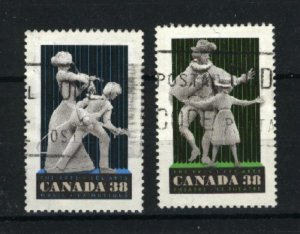 Can #1253,1255     used VF 1989 PD