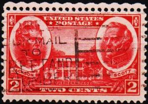 U.S.A. 1936 2c S.G.782 Fine Used