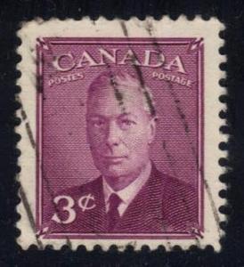 Canada #286 King George VI, used (0.25)