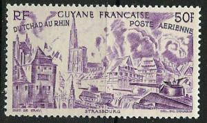 French Guiana ~ Scott # C17 ~ Mint NH