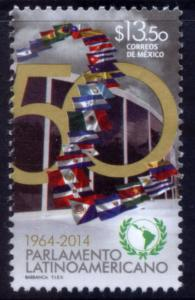 MEXICO 2918, 50th Anniversary Latin American Parliament. MINT, NH. F-VF.