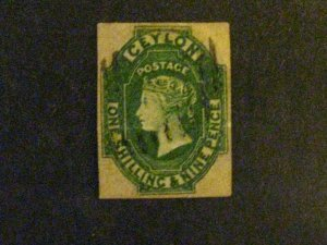 Ceylon #12 used spacefiller cleaned cancel corners replaced c203 87