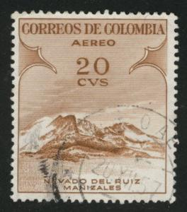 Colombia Scott C243 Used stamp