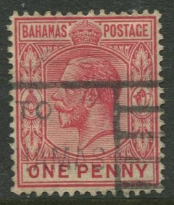 STAMP STATION PERTH Bahamas #72 KGV Definitive Issue Wmk.4 Used CV$0.25
