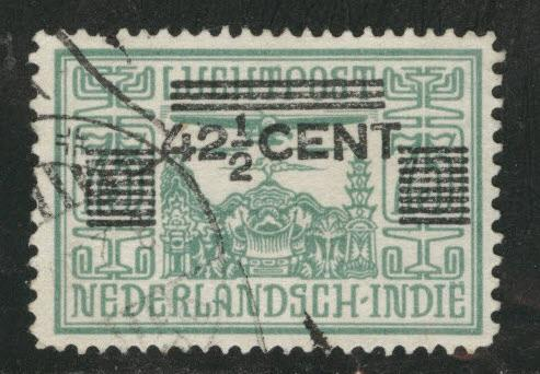 Netherlands Indies  Scott 192 used  from 1934