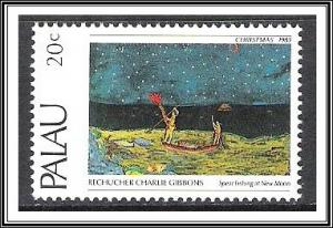 Palau #32 Christmas Paintings MNH