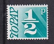Great Britain  #J79  MNH  1970  postage due 1/2p