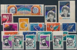 USSR stamp 1963-1964 Space Exploration 19 stamps with sets WS201023