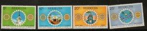 BERMUDA SG320/3 1974 50th ANNIV OF ROTARY IN BERMUDA  MNH