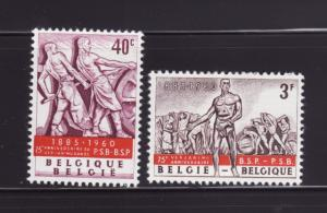 Belgium 543-544 Set MH Workers (A)