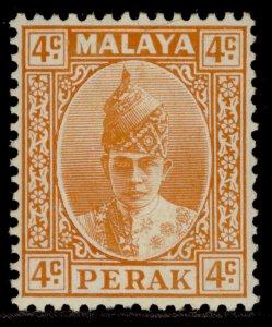 MALAYSIA - Perak GVI SG107, 4c orange, M MINT. Cat £42.